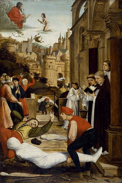 The Black Death ripped through Europe