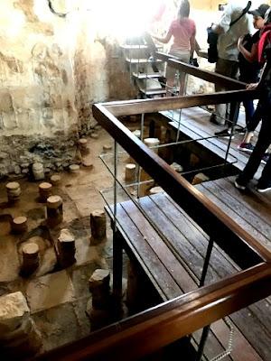 Ruin of Roman Bath Masada