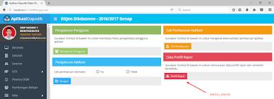 Aplikasi Dapodikdas Versi Terbaru 2017.B - Fitur Nilai Sudah Ada