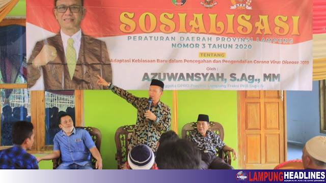 Azuwansyah Sosper Adaptasi Dan Kebiasaan Baru Covid-19 di Kecamatan Semaka