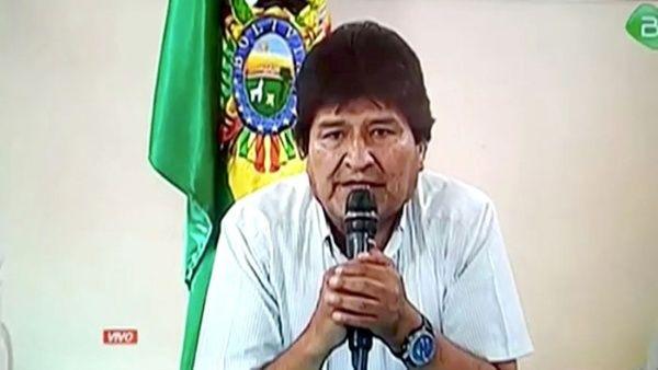 Bolivian President Morales Announces Resignation