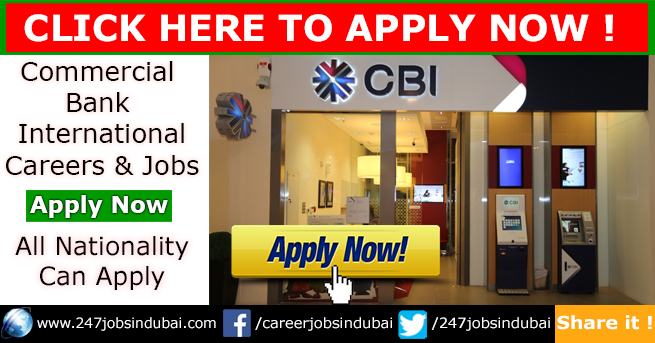 Staff Recruitment at Commercial Bank International Jobs and Careers