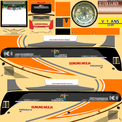 Download Kumpulan Livery Bus Simulator Indonesia BUSSID 2