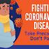 Fighting Coronavirus Disease: Take Precautions Don't Panic! #infographic