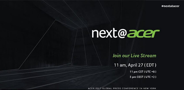 12th Global Press Conference Live Streaming @AcerAfrica #27April2017