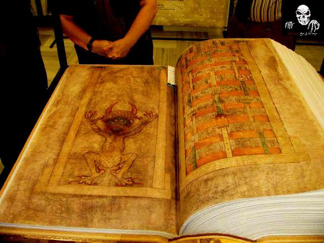 كتاب الشيطان pdf  اللغز الذي حير العالم - مخطوطة غيغاكس