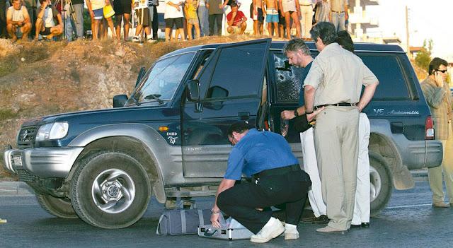 Λίγα λεπτά μετά την εκτέλεση του Βασίλη Γρηγοράκου
