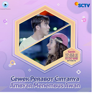 FTV Cewek Perabot Cintanya Ambyar Menembus Awan