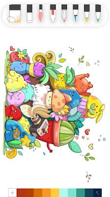 تحميل تطبيق الرسم للاندرويد بالالوان للاطفال