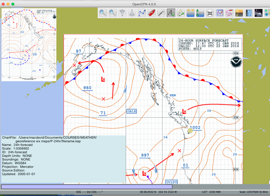 David Burch Navigation Blog: How to Load Weather Maps into