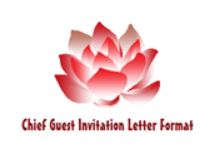 sample letter format to invite chief