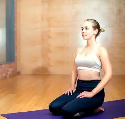Vajrasana Yoga  - वज्रासन योग