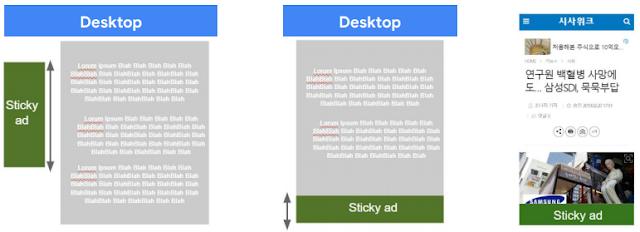 Cara Memasang Iklan Google Adsense Sticky Ads Pada Blogspot