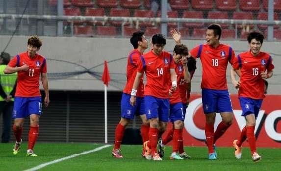 Korea Selatan vs Bolivia
