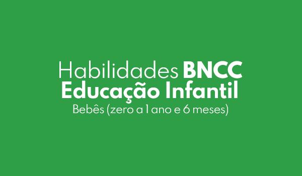 Habilidades da BNCC Bebês (zero a 1 ano e 6 meses)