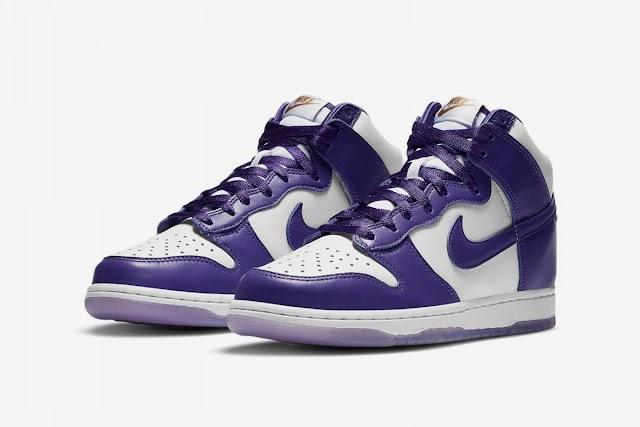 Nike sigue dándole vida a las SB Dunk High con las «Varsity Purple»