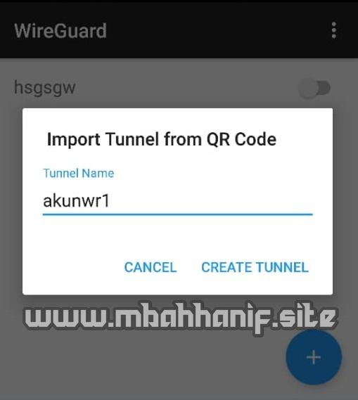 Akun wireguard