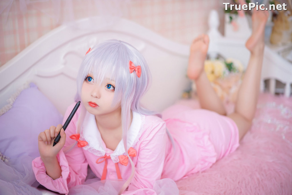 Image [MTCos] 喵糖映画 Vol.048 - Chinese Cute Model - Lovely Pink - TruePic.net - Picture-3