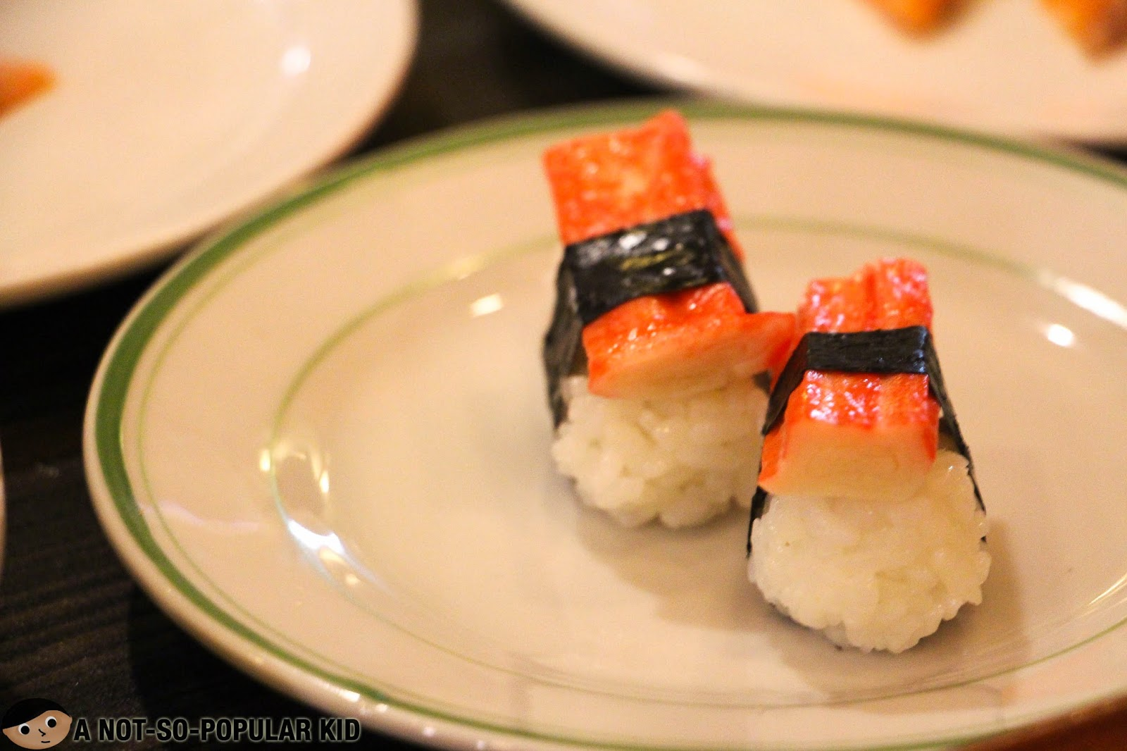 Crab Stick Sushi in Genji-M