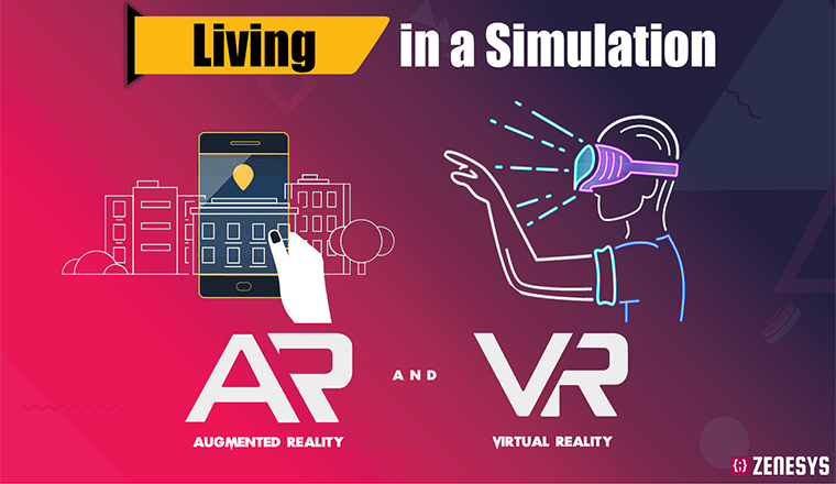 Living in a Simulation - Augmented and Virtual Reality #infographic