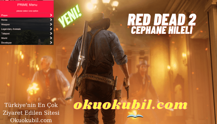 RDR2 Red Dead Cephane Hileli, Simple Menu, God Mode, Spawner İndir