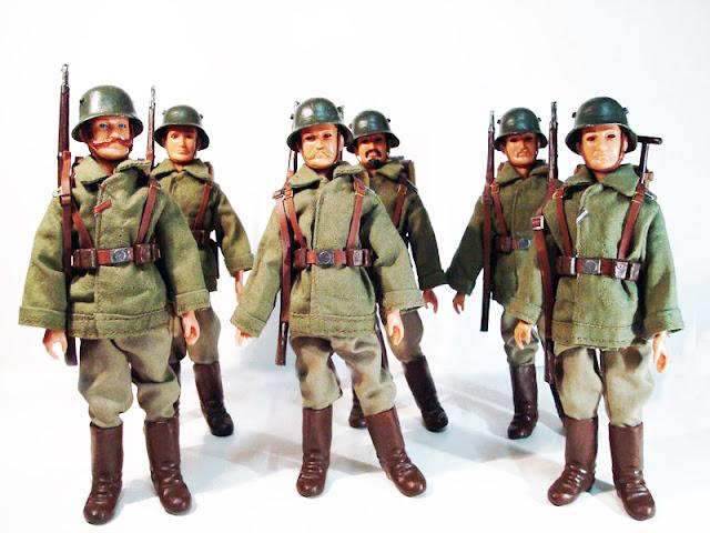 Madelman Infantería Alemana Custom
