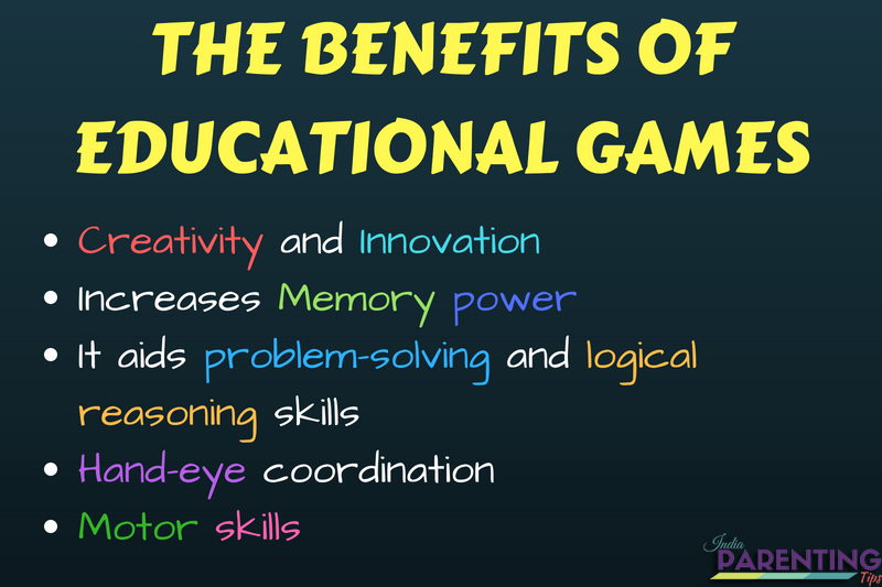 Educational Games For Your Child Benefits Of Educational
