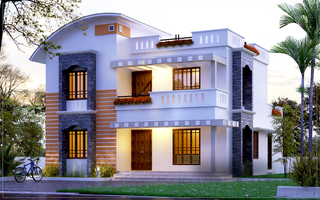 32 lakhs 1800 sq ft 3 bed room residence