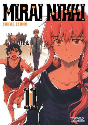 Mirai Nikki Review Manga