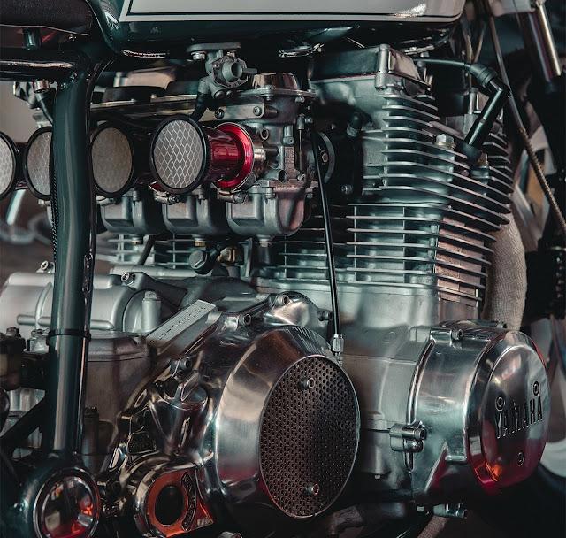 Yamaha XS1100 By Upcycle Garage Hell Kustom