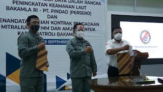 Bakamla buys Pindad machine guns for patrol vessels