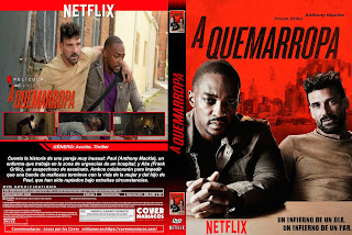 A QUEMARROPA – POINT BLANK 2019 [COVER – DVD]