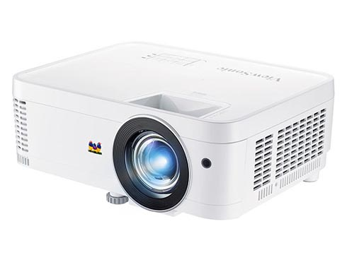 ViewSonic, full HD DLP projector capable of short focus projection
