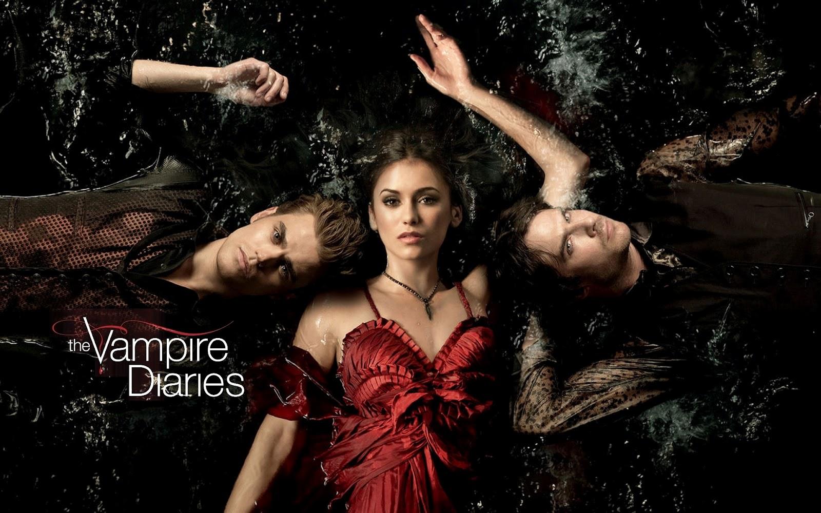 Eyesurfing: Vampire Diaries Wallpaper TV Series