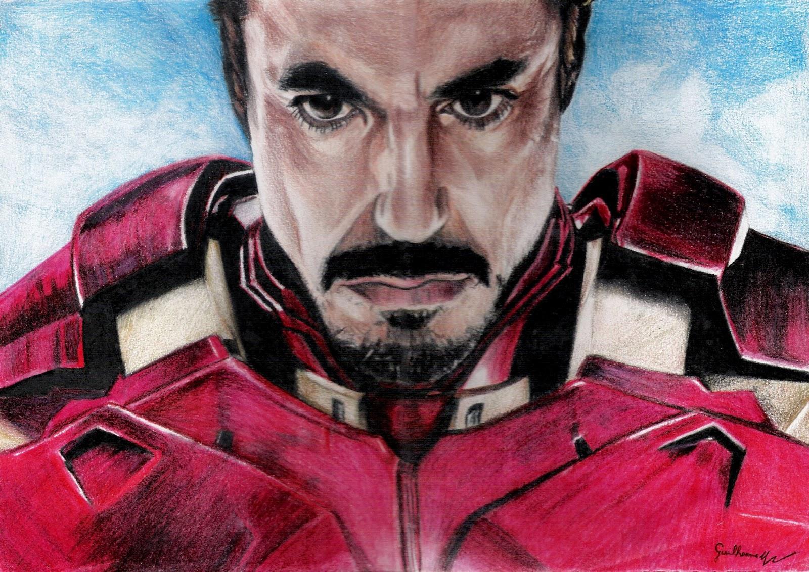 Guilherme Roemers Moacyr Desenhos Homem De Ferro