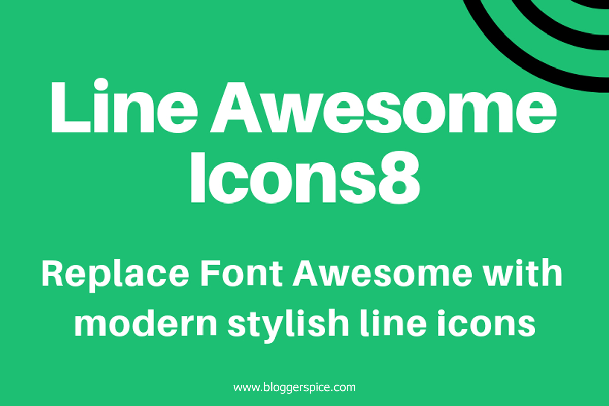 Line Awesome — Free Beautiful Icon Font