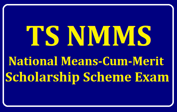 TS NMMS Exam 2019 - National Means-cum-Merit Scholarship Scheme Examination /2019/08/TS-NMMS-Exam-2019-National-Means-cum-Merit-Scholarship-Scheme-Exam.html