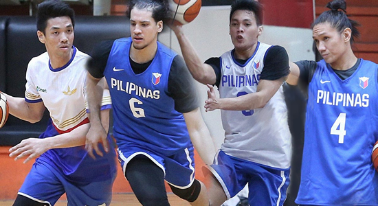 LIST: Team Pilipinas Official lineup vs Iran 4th window 2019 FIBA World Cup Qualifiers Asia
