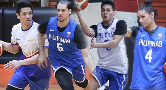 LIST: Team Pilipinas Official lineup vs Iran 4th window 2019 FIBA World Cup Qualifiers Asia