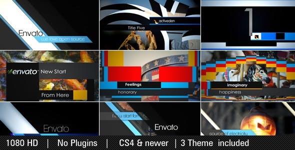 Slide Harmony Pack (3-in-1)[Videohive][After Effects][4388329]