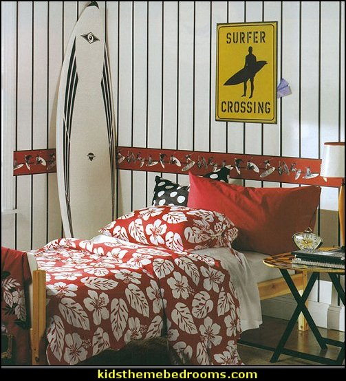surfer Boy bedroom Surfer themed bedroom accessories Surfer Boy bedroom ideas  surfing bedroom - beach surf themed bedroom ideas - surfer girl themed bedroom ideas - surf decor for bedroom  - beach theme bedrooms - surfer girls - girls surfing themed bedroom ideas - surfer boys - coastal living style - surfing themed bedroom decorating ideas - beach bedrooms - raffia valance window ideas - 3d wall decorations - surfing decor - surfer girls surfing bedrooms surf bedding