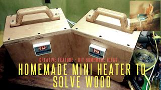 Alat Pemanas Elektrik - Electric Heater Untuk meluruskan kayu