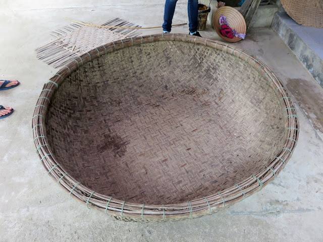Basket boat in central Vietnam