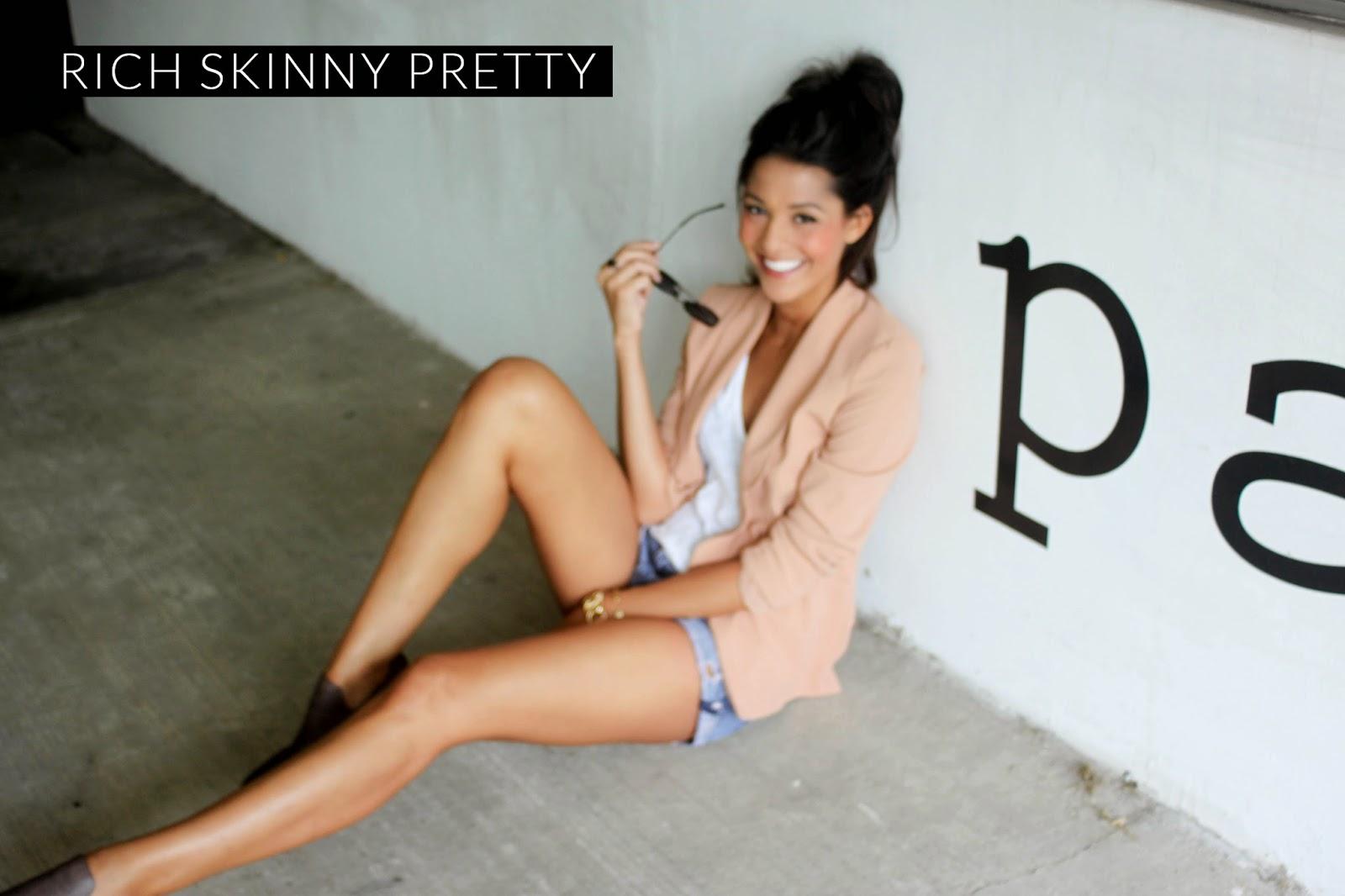 Rich skinny pretty