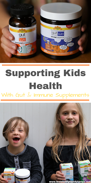 Supporting Kids Health With Gut & Immune Supplements