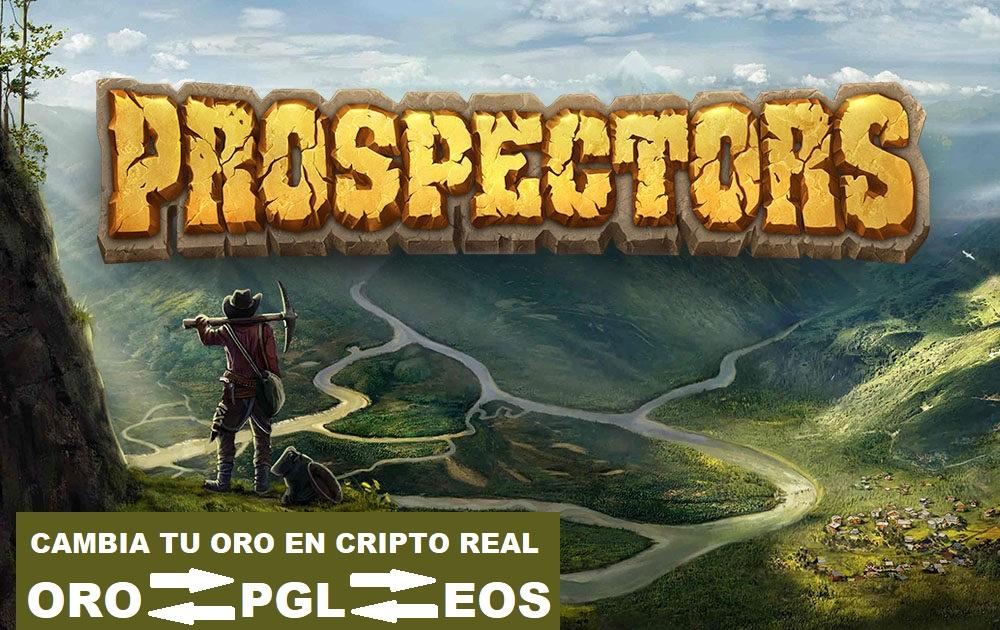 Prospectors - Mina Oro virtual y conviértelo en Criptomonedas