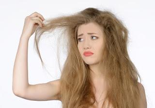 تنعيم الشعر الجاف