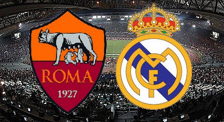 AS Roma vs. Real Madrid CF | UEFA Champions League 2015/16 [image by www.taruhanbola.asia]