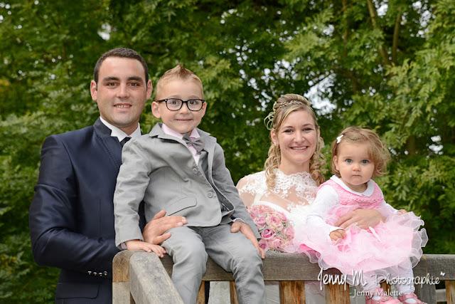 portraits mariés et leurs enfants séance couple after day