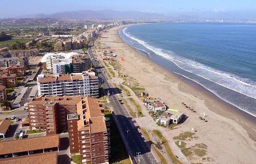 Praia em La Serena